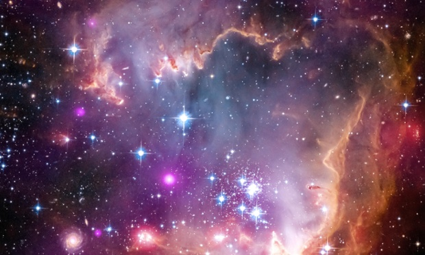 Küçük Magellanic Bulut Galaksisi- Jophiel'in Kozmik Tozu