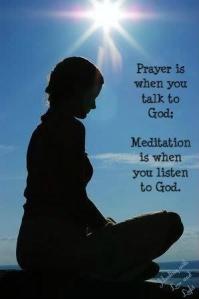 Dua Tanrıyla konuşmak; meditasyon Tanrıyı dinlemektir