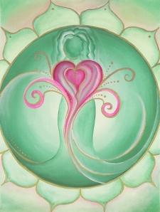 Heart Chakra by Lori A Andrus