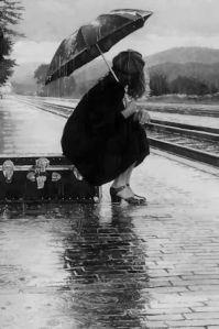Paris 1950s Umbrella