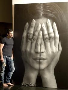 """Tigran Tsitoghdzyan -Oil 2012 Painting """"Mirror"""" Saatchi Online"""
