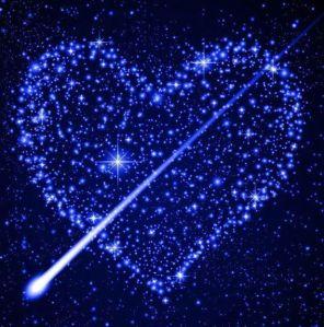 Blue Star Heart