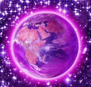violet flame transmuting
