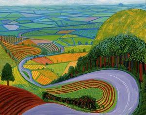 David Hockney, Garroby Hill