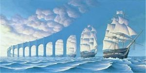 Vladimir Kush - the ship