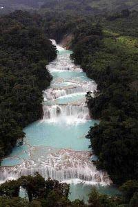 Agua Azul - Palenque, Mexico