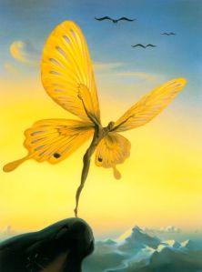 Vladimir Kush butterfly