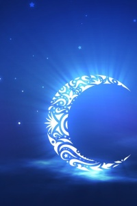Cresent Blue moon