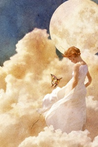 Girl in the Clouds by ~nendili