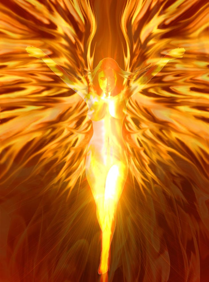 Drawings Phoenix Rising Woman