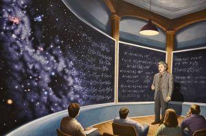 Rob Gonsalves - Chalkboard Universe