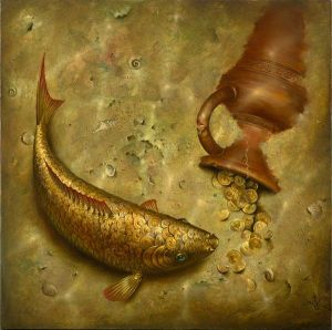 Vladimir Kush - What the Fish was Silent About