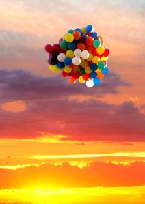 release the balloons