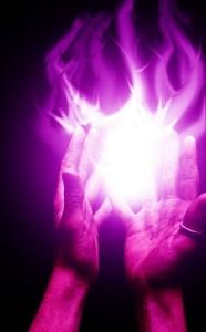 violet flame hands
