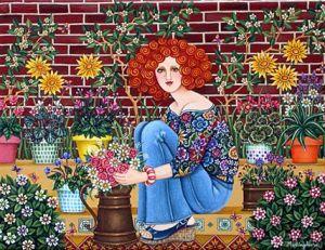 Argentina ~ Mariangeles Puente Duran ~ Aunt Chicha's Garden