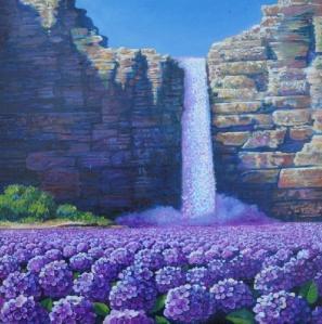 Ernesto Arrisueno - Flower Fall