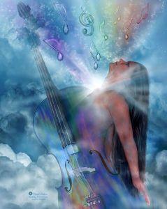 Healing Expression Print by Carol Cavalaris