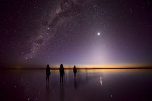 Lost Souls, Julie Fletcher (Australia), Zodiacal light