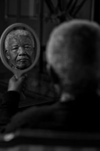Nelson Mandela Portrait by the photographer and filmmaker Adrian Steirn