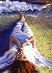 Ocean woman by AlisaPaints