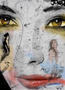 Saatchi Online Artist Loui Jover; Mixed Media, mind mechanics