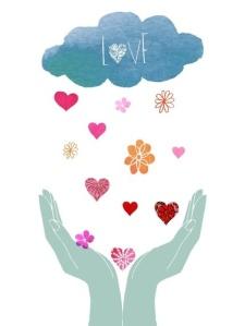 love raining