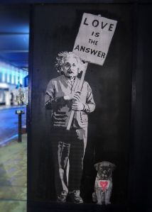 Einstein Serafini Amelia Graffiti London