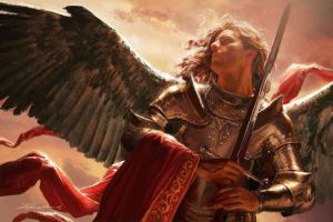 Michael Komarck Illustration - Archangel Michel (2005)