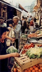 Paris marketplace