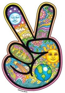 PEACE HAND -  Art By Dan Morris