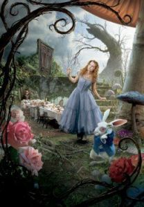 Alice in woderland - tim burton