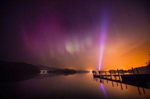 Aurora Borealis - Lake District March 2015