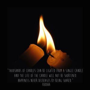 Candle - Buddha