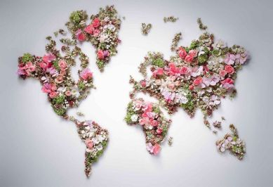 Floral earth
