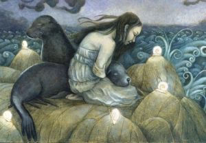Lost Selkie, by Erika Taguchi-Newton