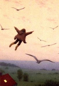 Quint Buchholz (German, 1957) ~ The Flying Child
