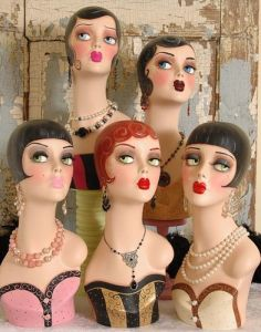 Art Deco Mannequin Collection