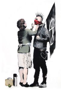 Banksy - rebel