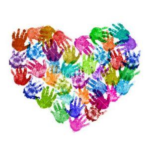 Handprint love