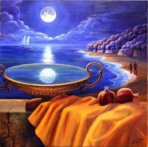 Nelly Tsenova aquarian moon