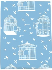 Birdcage wallpaper