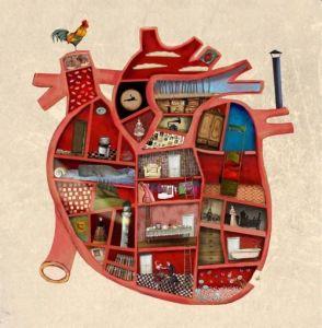El interior del corazon - raquel diaz