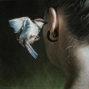 Stay awake ~ Painted by Truls Espedal