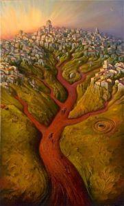 Vladimir Kush - Tree City