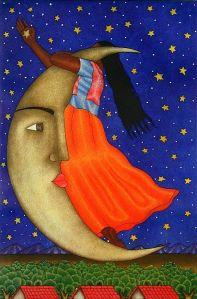 olivera moon - mexican art
