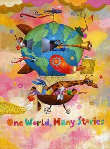 One World, Many Stories by Rafael Lopez