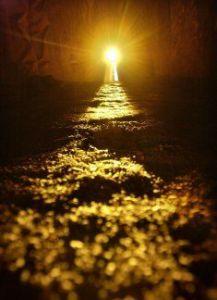 winter solstice light corridor