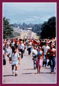 Woodstock Music Festival in Bethel, New York 1969