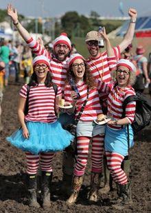 glastonburry festival looks