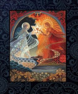 Sacred union of god and goddess